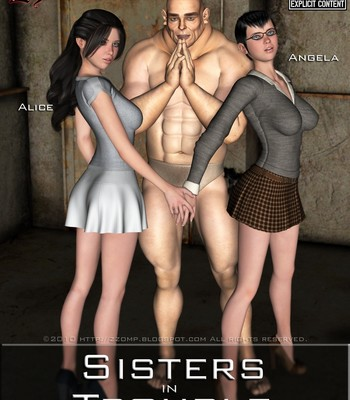 Porn Comics - Sisters In Trouble 1 Sex Comic