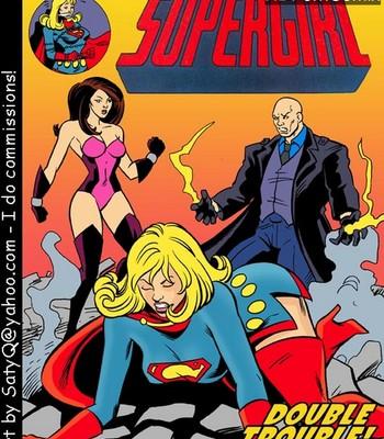 Porn Comics - Supergirl Double Trouble
