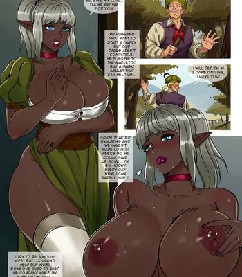 Porn Comics - Dark Elf