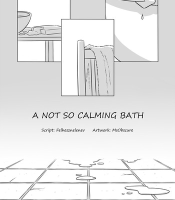 Porn Comics - A Not So Calming Bath Sex Comic