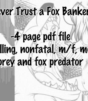 Porn Comics - Never Trust A Fox Banker