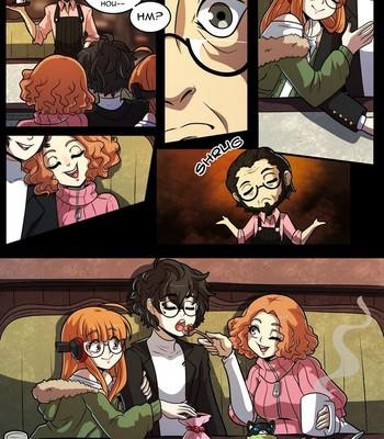 Joker x Futaba x Haru comic porn sex 022