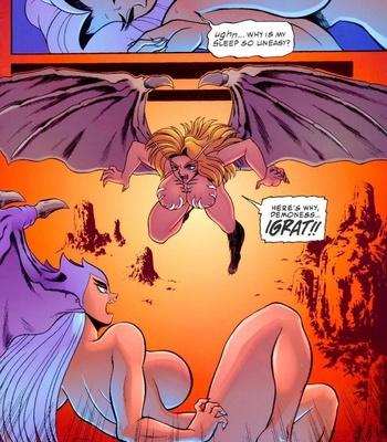 Satanika X comic porn sex 004