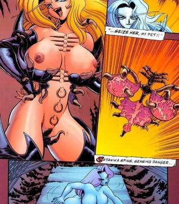 Satanika X comic porn sex 010