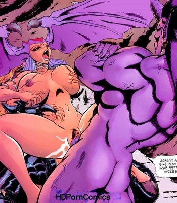 Satanika X comic porn sex 029