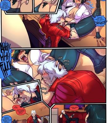 Devil May Fuck – Dante X Lady – Sex & Gambling comic porn sex 002