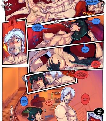 Devil May Fuck – Dante X Lady – Sex & Gambling comic porn sex 005