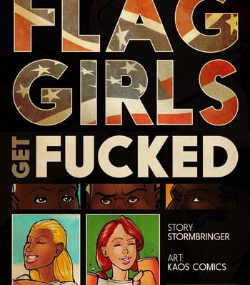 Porn Comics - The Flag Girls Get Fucked 1