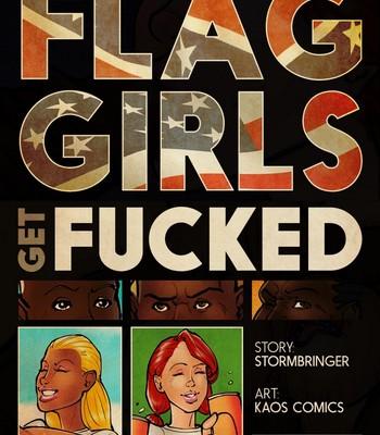 Porn Comics - The Flag Girls Get Fucked 1