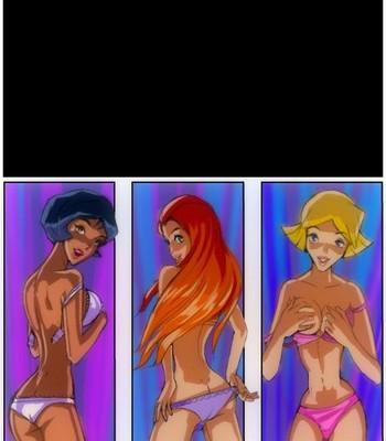 Porn Comics - Triple Attack Sex Comic