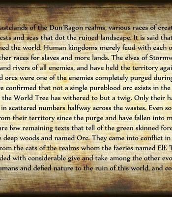 The Chronicles Of Dun'Ragon 2 – The Half-Orc comic porn sex 002