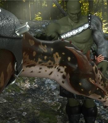 The Chronicles Of Dun'Ragon 2 – The Half-Orc comic porn sex 010