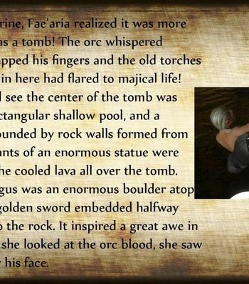 The Chronicles Of Dun'Ragon 2 – The Half-Orc comic porn sex 019