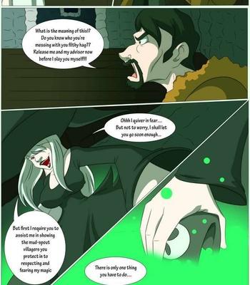 A Witch's Curse comic porn sex 003