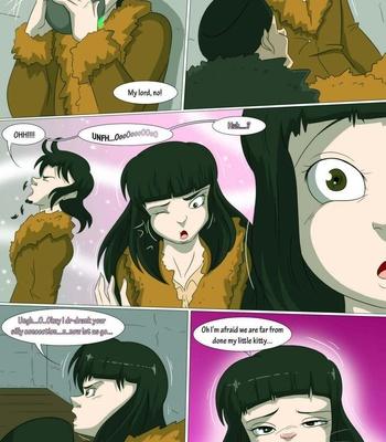 A Witch's Curse comic porn sex 004