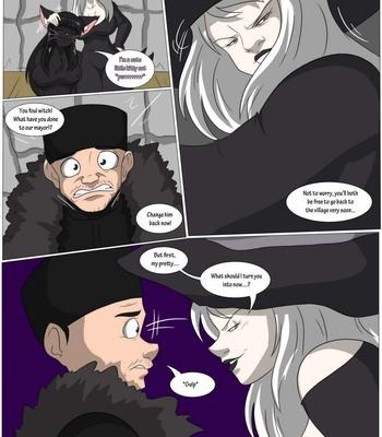 A Witch's Curse comic porn sex 008