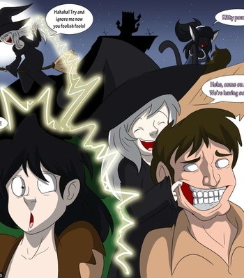 A Witch's Curse comic porn sex 016
