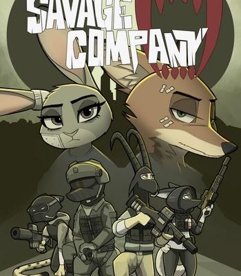 Porn Comics - Savage Company 5
