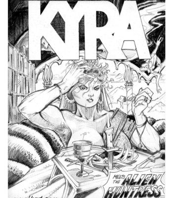 Porn Comics - Kyra 1 – Kyra Meets The Alien Huntress
