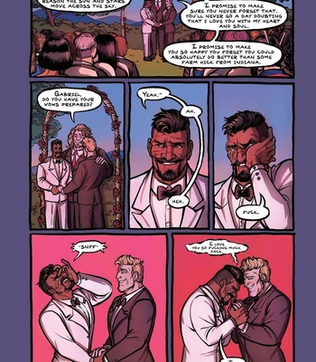 Porn Comics - The Wedding Night