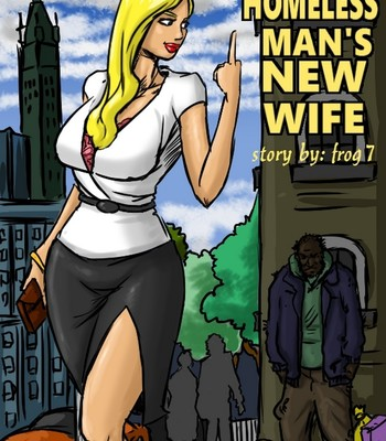 Porn Comics - The Homeless Man's New Wife