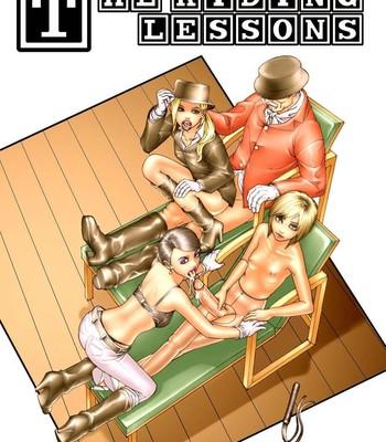 Porn Comics - The Riding Lessons Sex Comic