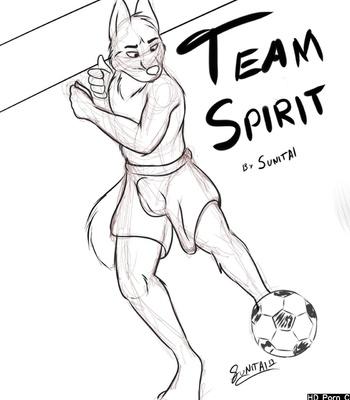 Porn Comics - Team Spirit