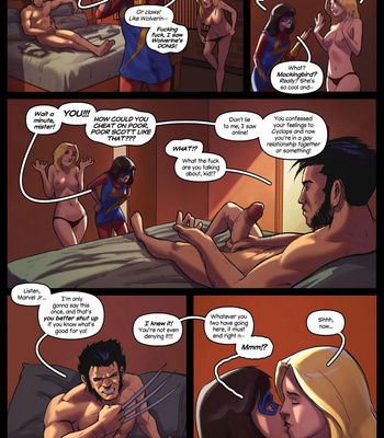 House Of XXX – Logan's Marvels comic porn sex 006