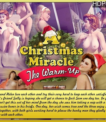 Porn Comics - A Christmas Miracle 1 – The Warm Up Sex Comic