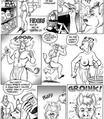 Porn Comics - Flexible
