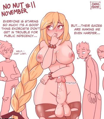 Soliel's No Nut November comic porn sex 011