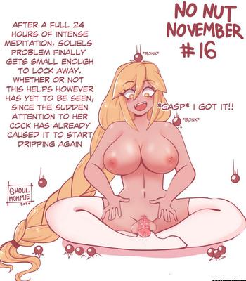 Soliel's No Nut November comic porn sex 016