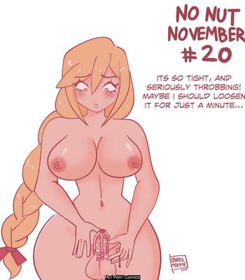 Soliel's No Nut November comic porn sex 020
