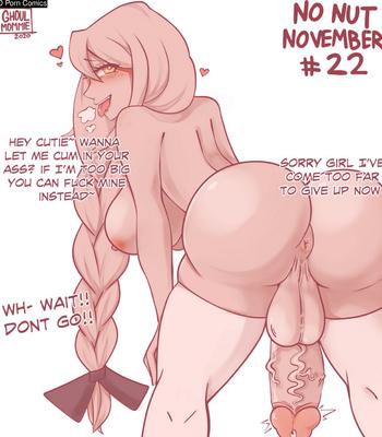 Soliel's No Nut November comic porn sex 023