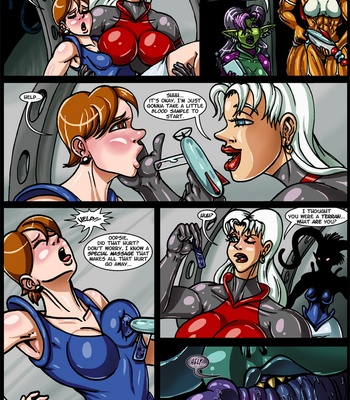 Side Dishes 3 – It Came From Outer Space comic porn sex 003