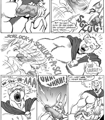 Big Red Wolf comic porn sex 004