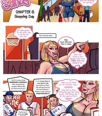 Porn Comics - The Secret Life Of Sandy 8 – Shopping Day