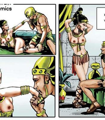 Harem Of Pharaoh comic porn sex 015