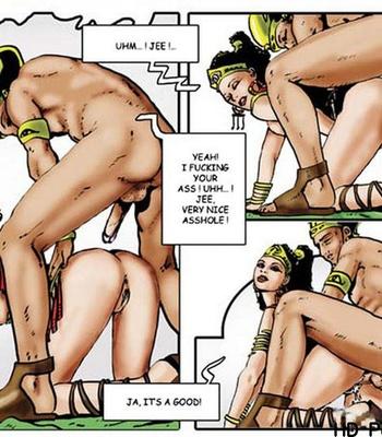 Harem Of Pharaoh comic porn sex 016