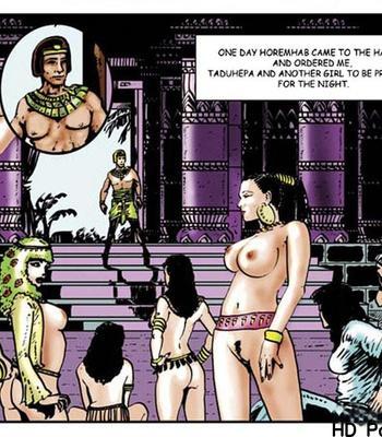 Harem Of Pharaoh comic porn sex 020