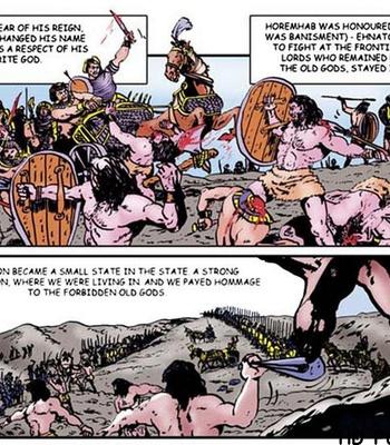 Harem Of Pharaoh comic porn sex 031