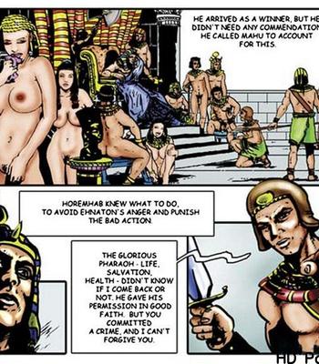 Harem Of Pharaoh comic porn sex 039