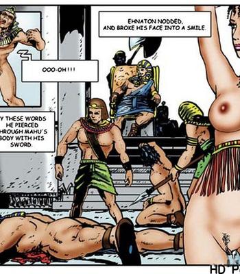 Harem Of Pharaoh comic porn sex 040