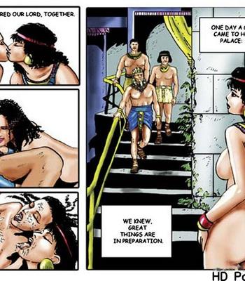 Harem Of Pharaoh comic porn sex 048