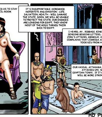 Harem Of Pharaoh comic porn sex 049