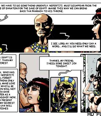 Harem Of Pharaoh comic porn sex 050