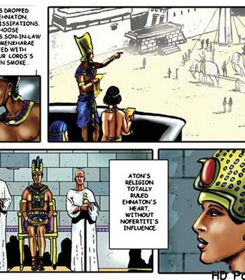 Harem Of Pharaoh comic porn sex 055