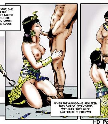 Harem Of Pharaoh comic porn sex 062