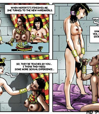 Harem Of Pharaoh comic porn sex 069