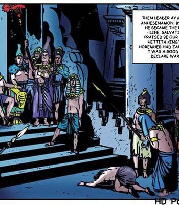 Harem Of Pharaoh comic porn sex 077
